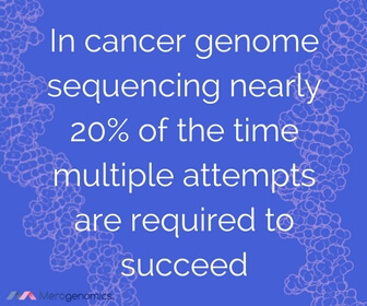 Image of article quote on genetic testing for cancer success rate