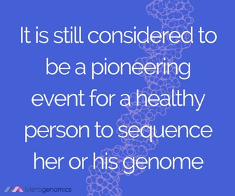 Image of article quote on DNA health testing