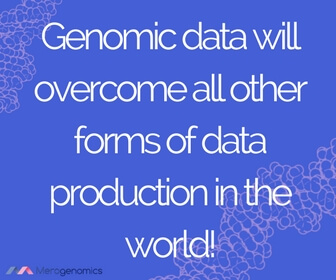 Image of article quote on genomic data