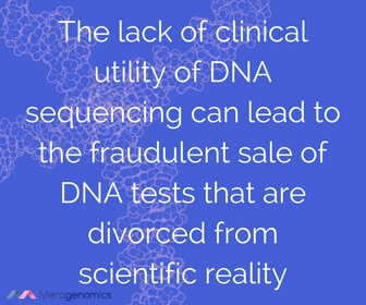 Image of article quote on DNA testing