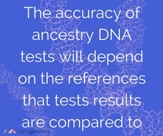 Image of article quote on ancestry test