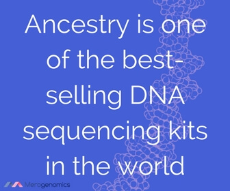 Image of article quote on ancestry DNA kit