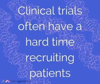 Image of article quote on clinical trial patient recruitment