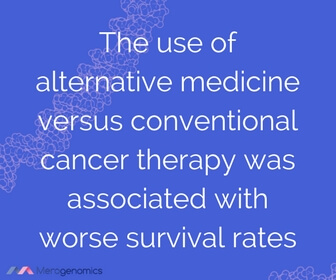 Image article quote on cancer survival rates