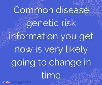 Image of Merogenomics article quote on genetic testing results