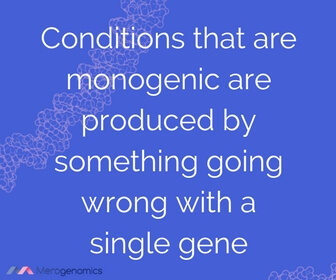 Image of Merogenomics article quote on single gene disorders