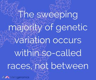 Image of Merogenomics article quote on ethnic genetic diversity