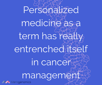 Image of Merogenomics article quote on personalized medicine
