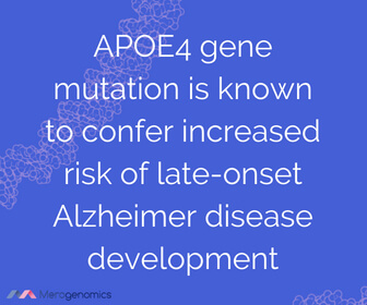 Image of Merogenomics article quote on Alzheimer
