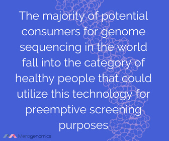 Image of Merogenomics article quote on DNA testing for health