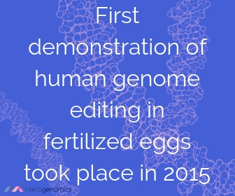 Image of Merogenomics article quote on gene editing