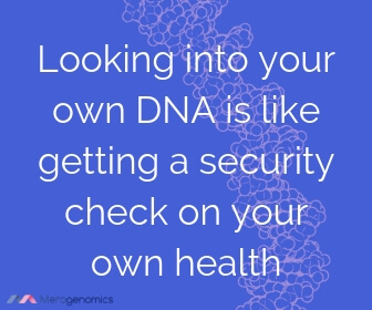 Image of Merogenomics article quote on DNA analysis health