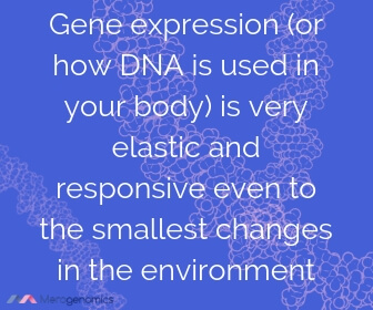 Image of Merogenomics article quote on gene expression in space