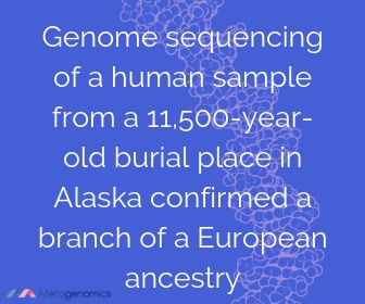 Image of Merogenomics article quote on ancestry DNA test