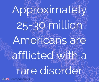 Image of Merogenomics article quote on rare diseases frequency in America