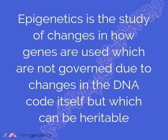 Image of Merogenomics article quote on epigenetics