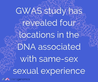 Image of Merogenomics article quote on genetics influencing homosexuality