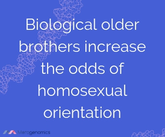 Image of Merogenomics article quote on homosexuality