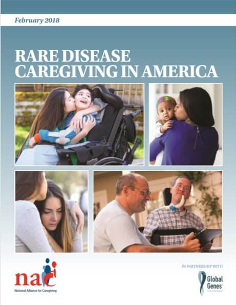 Image of Rare Disease Caregiving in America 2018 Report