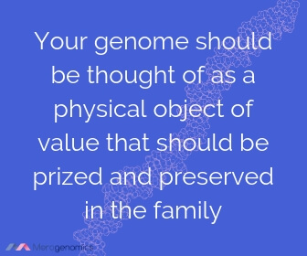 Image of Merogenomics article quote on genome sequencing benefits