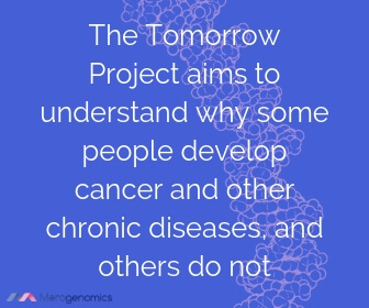 Image of Merogenomics article quote on what can cause cancer research