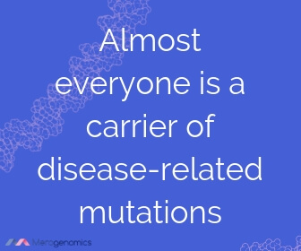 Image of Merogenomics article quote on carrier screening outcome
