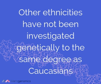 Image of Merogenomics article quote on ethnicity and DNA