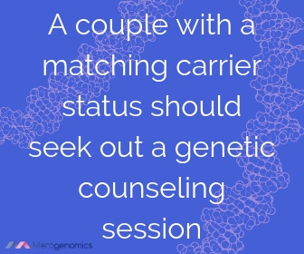 Image of Merogenomics article quote on genetic counseling