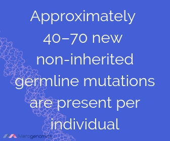 Image of Merogenomics article quote on genetic mutations type