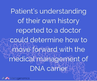 Image of Merogenomics article quote on genetic carrier screening