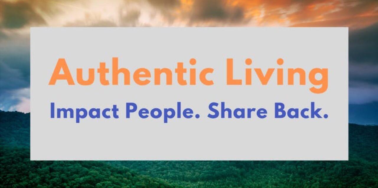 Image of Authentic Living September 26 2019 seminar Eventbrite cover