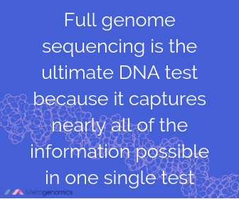 Image of Merogenomics article quote on best DNA test for health