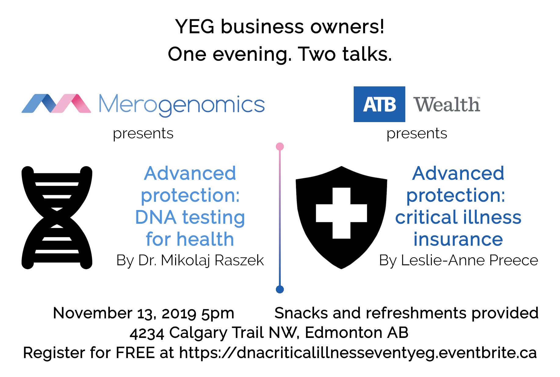 Image of / ATB Wealth November 13 2019 seminar Eventbrite cover