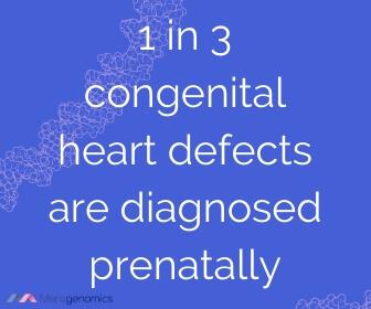 Image of Merogenomics article quote on congenital heart disease prenatal detection rate