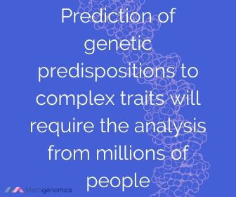 Image of Merogenomics article quote on genetic traits inheritance