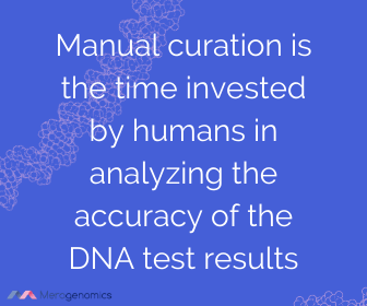 Image of Merogenomics article quote on accuracy of genetic testing