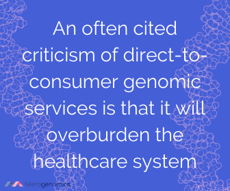 Image of Merogenomics article quote on DNA and healthcare