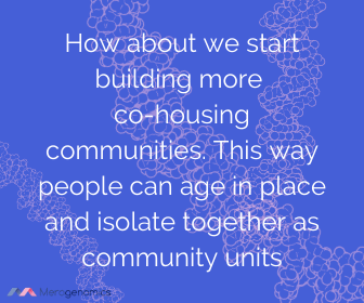 Image of Merogenomics article quote on cohousing communities