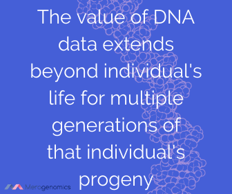 Image of Merogenomics article quote on DNA test value