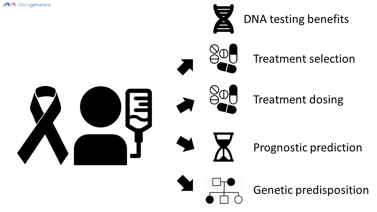 Image of Merogenomics Blog Figure on Cancer DNA testing benefits