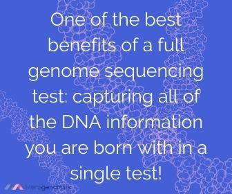 Full genome best benefit