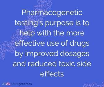 Pharmacogenetic testing definition