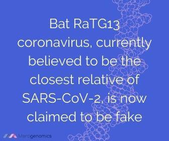 Image of Merogenomics article quote on coronavirus conspiracy theories