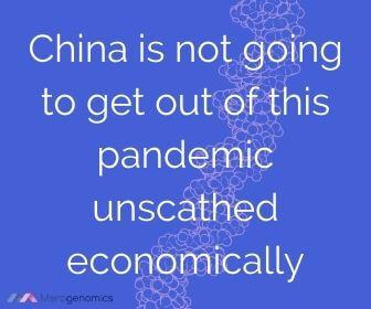 Image of Merogenomics article quote on China economic impact