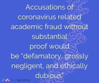 Image of Merogenomics article quote on science ethics