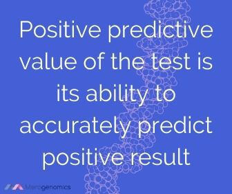 Image of Merogenomics article quote on what is positive predictive value