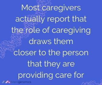 Image of Merogenomics article quote on caregiver care recipient relationship