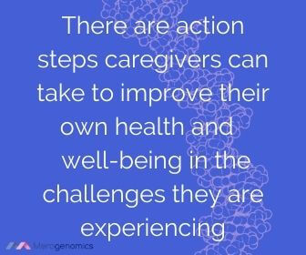 Image of Merogenomics article quote on caregiver support