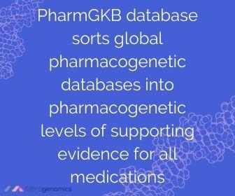 PharmGKB database