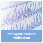 pathogenic variants verification